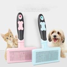 Brosse de toilettage pour animaux de compagnie brosse cheveux crepus anti poils chien et chat accessoires pour animaux de compagnie outil peigne pour animaux de compagnie chien