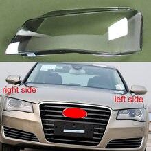 Audi için A8 2011 2012 2013 ön far gölge far şeffaf gölge far kabuğu abajur far kapak kabuk