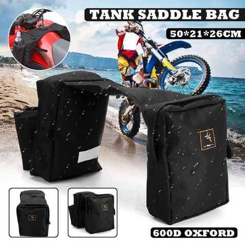 atv da motocicleta tanque saco impermeavel moto moto saddle bag com suporte de copo de