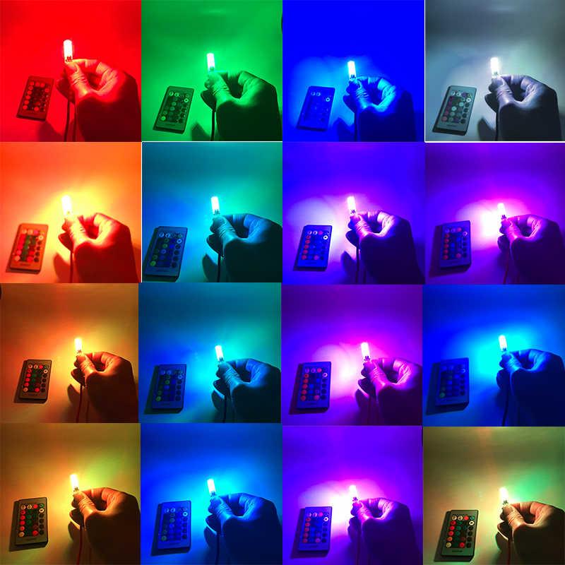 Para lexus rx300 rx330 rx350 is200 is250 gs300 lx470 lx570 gx47 T10 Canbus LED RGB Lâmpadas LEDs Luzes de Apuramento com remoto