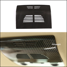 Wooeight Car Styling Carbon Fiber Rear Reading Lamp Frame Cover Trim Fit For BMW 3 Series E90 2005-2007 2008 2009 2010 2011 2012