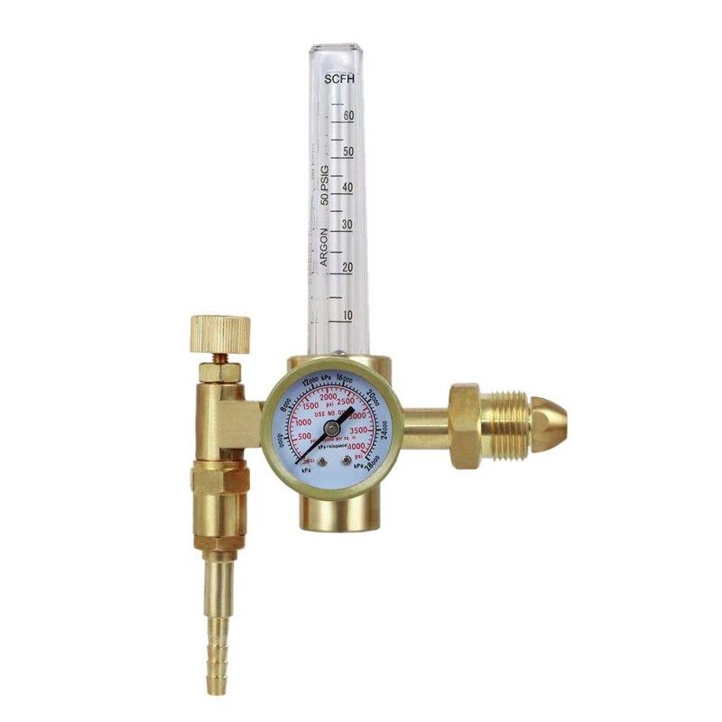 Aletler'ten Su saatleri'de Argon Co2 Cga 580 Mig Tig akış ölçer kaynak kaynak regülatörü göstergesi gaz kaynakçı title=