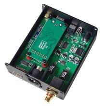 CSR8675 aptxHD بلوتوث اللاسلكية استقبال الصوت USB واجهة رقمية إلى AES الألياف محوري HMDI الناتج فك