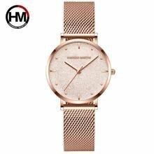Новые кварцевые женские часы hannah martin 2020 модные роскошные