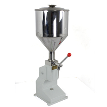 2-50ML A-03 Small Manual Hand Filling Machine Paste Honey Canning Liquid