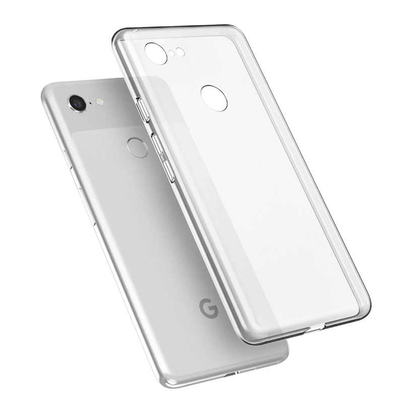 Caso de Telefone macio Para Google Pixel 4 3A XL 3lite XL Capa de Silicone TPU Tampa Para Google Pixel 3A 3 XL Lite Tampa Traseira À Prova de Choque