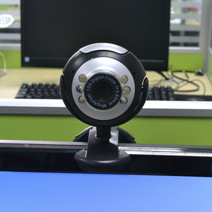 New USB 2.0 Digital HD Webcam Camera 30.0 Mega Pixels 6 LED Web Cam With Mic Microphone For Skype For MSN PC