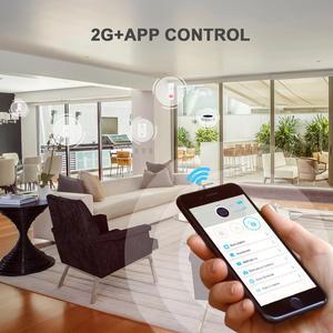 Image 3 - Sistema de alarma inalámbrico GSM GPRS para exterior, alarma Solar, aplicación remota, Control de SMS, aviso de marcación, llamada de seguridad para el hogar, IOS y Android