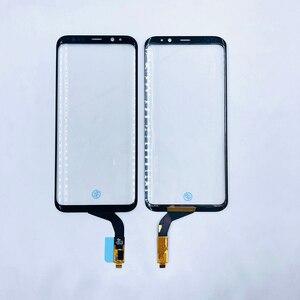 Image 5 - オリジナル携帯電話のタッチパネルデジタイザセンサータッチスクリーン外側ガラスの交換サムスンS7edge S8 + Note8画面