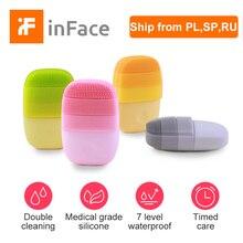 In face detergente elettrico per il viso profondo pulizia del viso spazzola per massaggi lavaggio del viso sonico