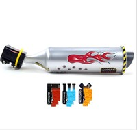 New Style Cycling Turbo Motorcycle Sound Exhaust Pipe Large Size Cool Trend Bicycle Only Manufacturers Direct Selling