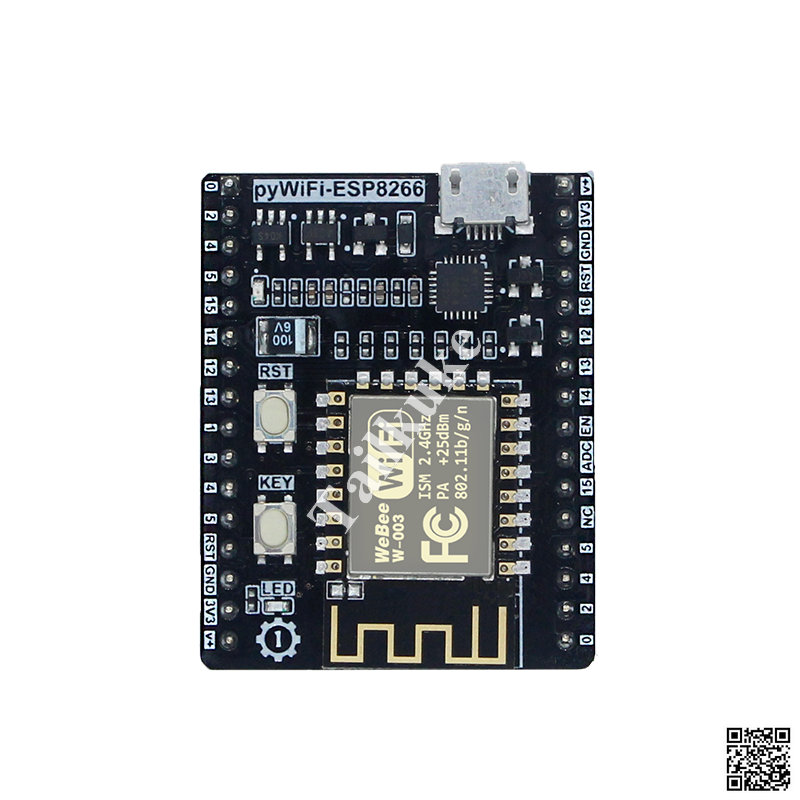 PyWiFi- ESP8266 Micro- Python IoT WIFI Learning Development Board Pyboard