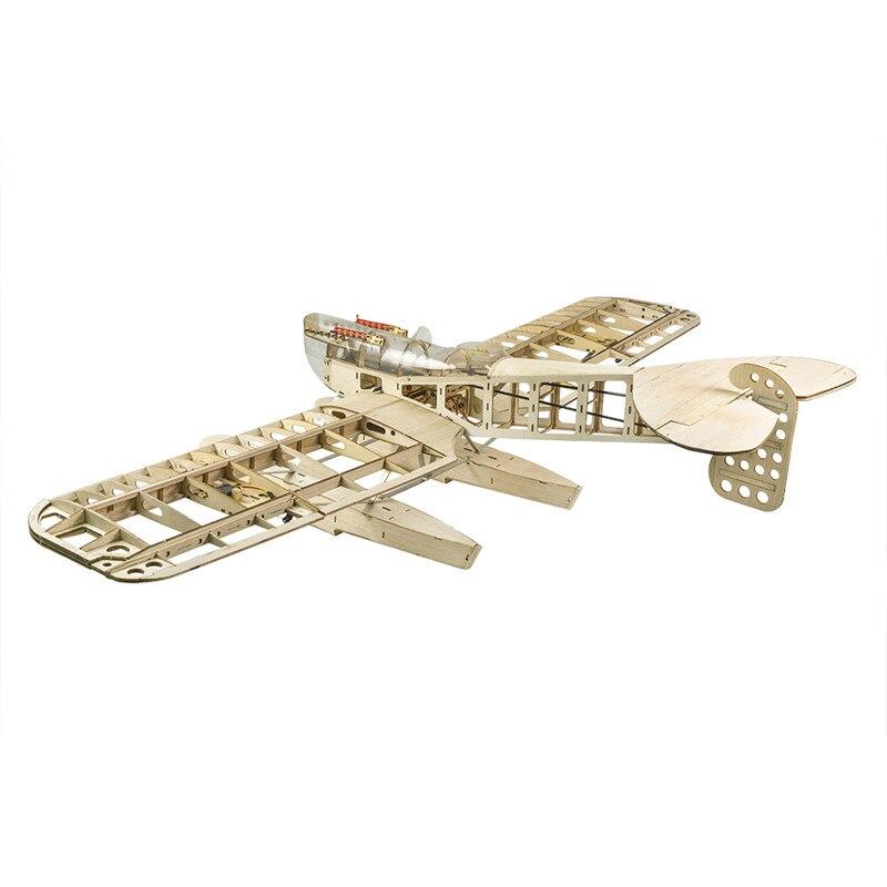 Летательный аппарат Dacing Wings S26 Hansa с легким деревянным самолетом, 1400 мм