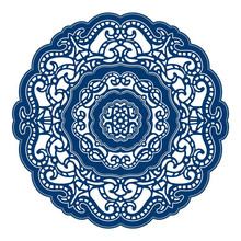 Buy YaMinSanNiO Lace Circle Frame Metal Cutting Dies for Scrapbooking New 2019 Craft Dies Embossing Dies Cuts Card Making Stencils directly from merchant!