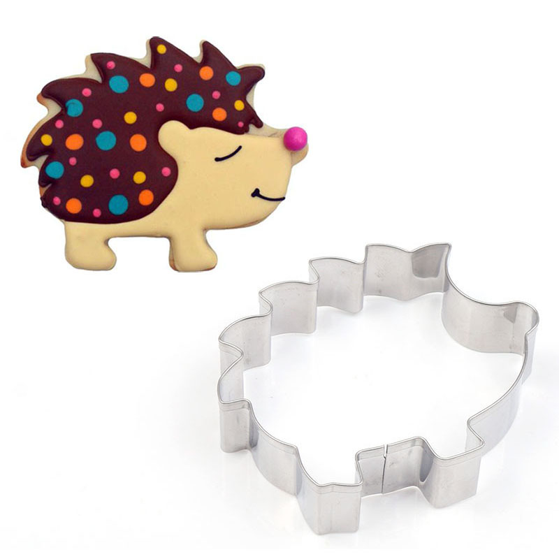 Biscuit Mold Cookie-Cutter Pastry-Decorating Fondant Animal-Shape Hedgehog Stainless-Steel title=
