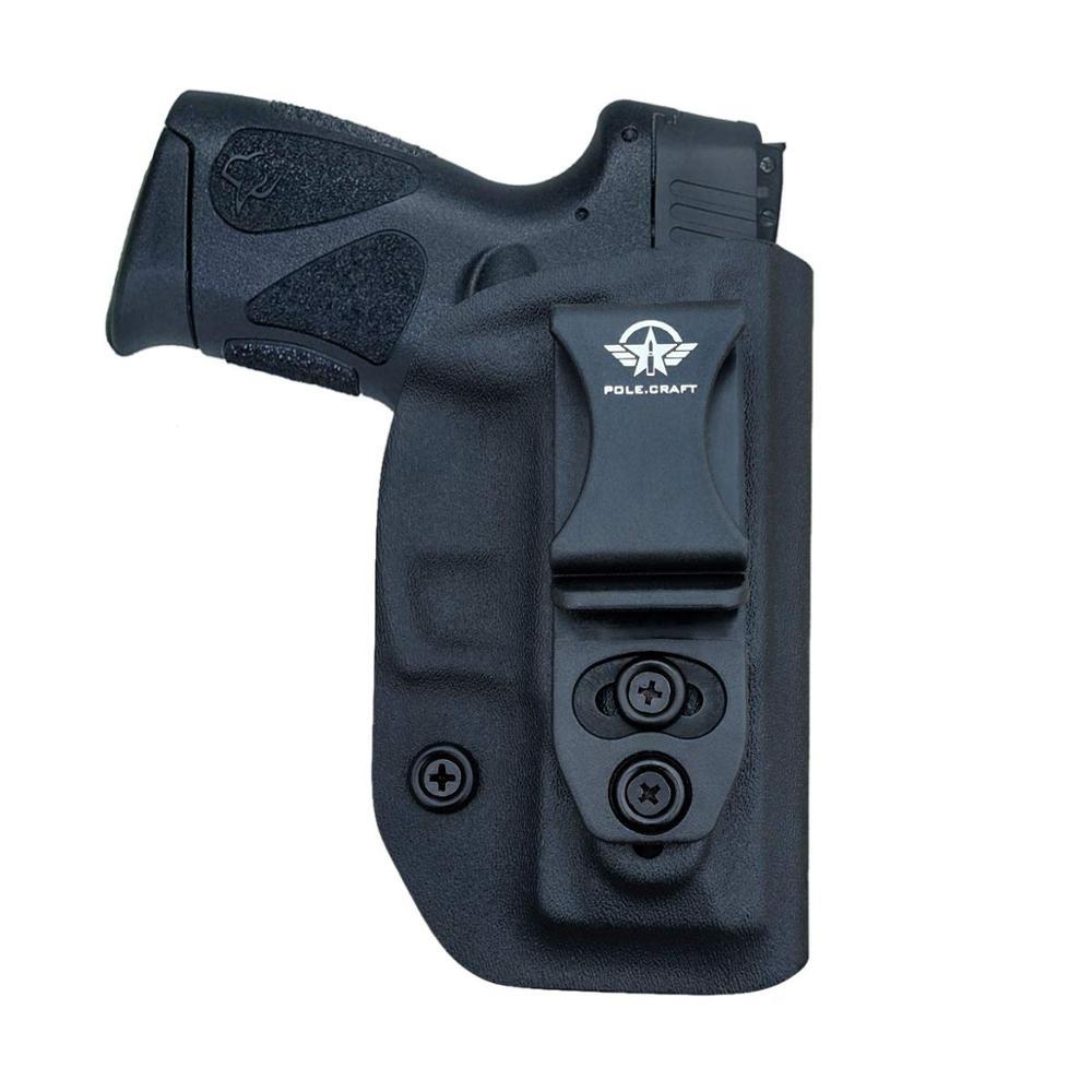PoLe.Craft Kydex IWB Holster Taurus G2C & Millennium PT111 G2 / PT140 9mm Pistol Case Inside Waistband Carry Concealed Holster