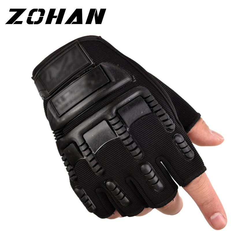 Men/'s Tactical Gloves Military Army Combat Paintball Airsoft Fingerless Gloves
