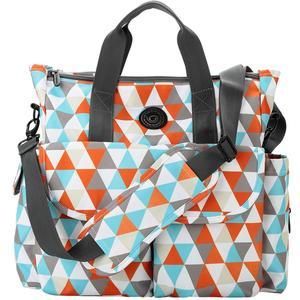 Image 4 - Lekebaby Fashion Diaper Bag Backpack Quilted Large Mum Maternity Nursing Bag Travel Backpack Stroller Baby Bag Nappy Baby Care