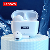 NEUE Lenovo LP40 TWS Drahtlose Kopfhörer Bluetooth 5,1 HiFi Stereo Kopfhörer Noise Reduction Bass Touch Control Headset Mit Mic
