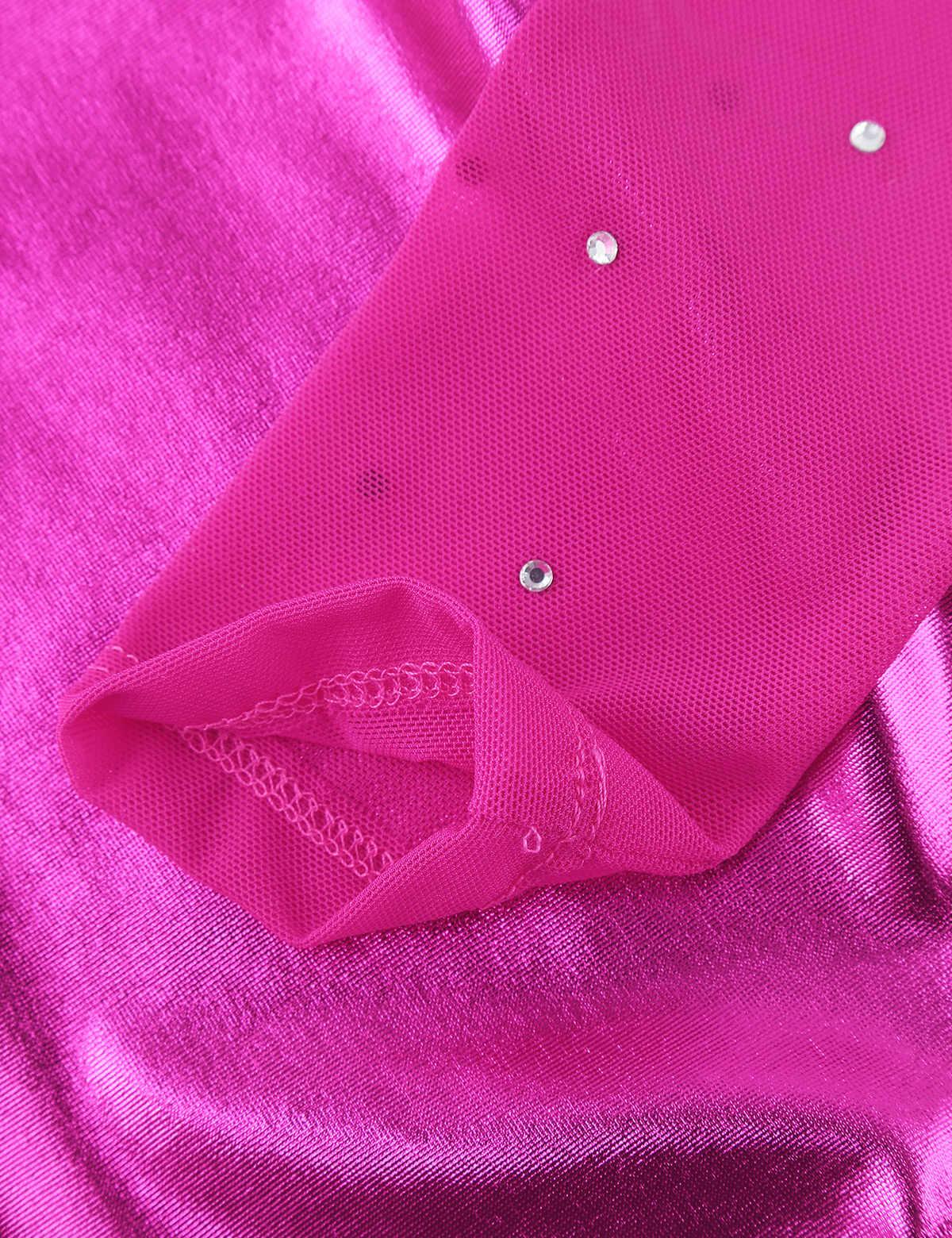 バレリーナチュールリズミカルな体操レオタードダンスドレス子供キッズガールズダンスクラス運動スパンコールボディスーツ衣装