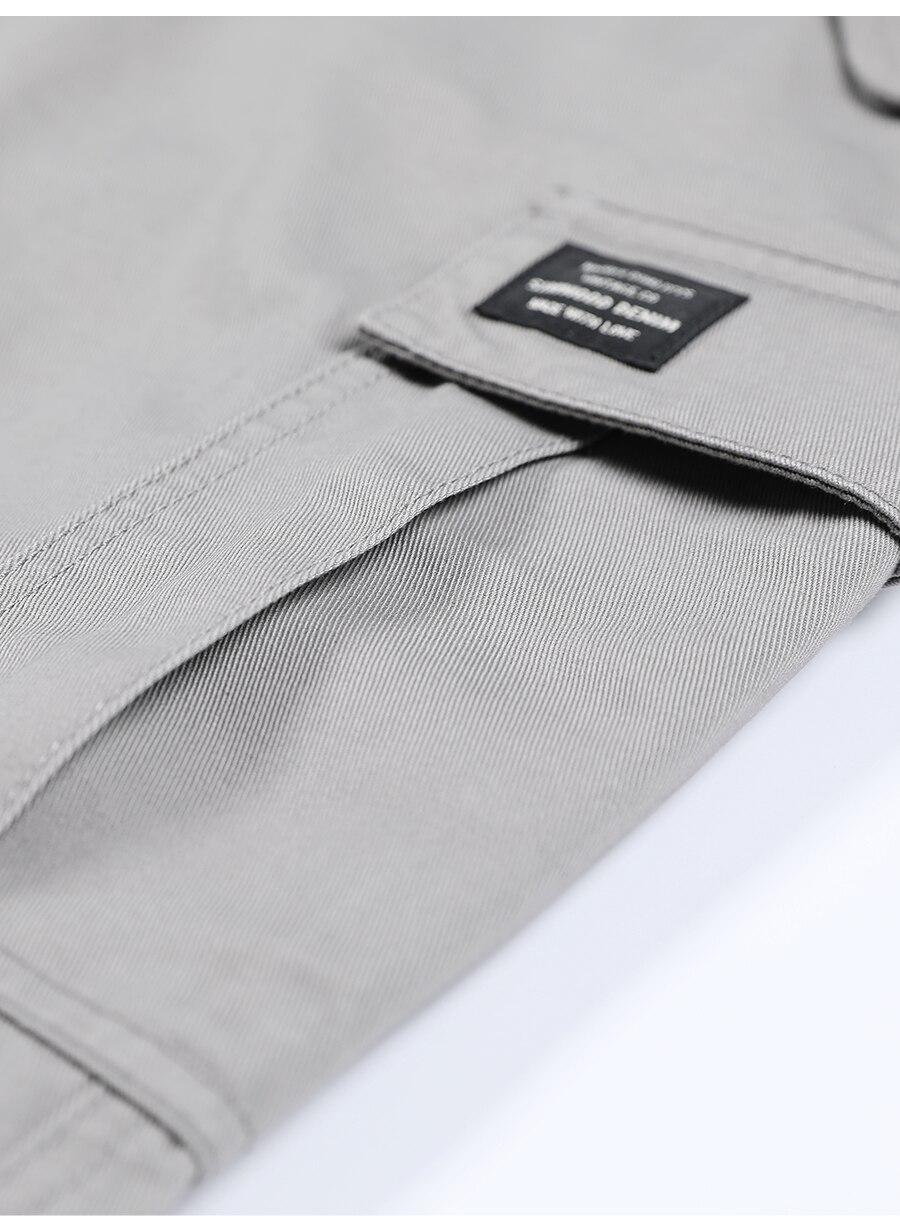 Hd9f8f34f516f425d85ea9e1500813644E SIMWOOD New 2019 Casual Pants Men Fashion track Cargo Pants Ankle-Length military autumn Trousers Men pantalon hombre 180614