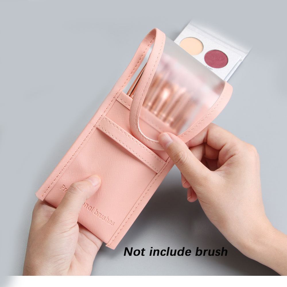 1Pcs Pocket Cosmetic Bag Makeup Storage Bags Brushes Case Portable Holder Organizer Pouch Make Up Tools Brushes Holder