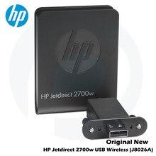 цена на Original New HP Jetdirect Jetdirect 2700w Wireless USB-Printserver J8026A Wireless LAN M601 M602 M603 M712 M725 M551 M575