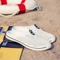 2020 Men&Women Waterproof Aqua Sandals Summer Soft Shoes Outdoor Beach Water Shoes Upstream Creek Non-Slip Lightweight Wading 1