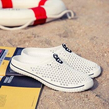 2020 Men&Women Waterproof Aqua Sandals Summer Soft Shoes Outdoor Beach Water Shoes Upstream Creek Non-Slip Lightweight Wading