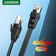 UGREEN Cat8 Cable Ethernet 40Gbps de Cable de red RJ 45 Lan RJ45 Cable de parche para PS4 PC portátil PS 4 Router gato 8 Cable Ethernet
