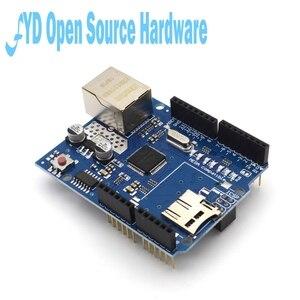 Image 3 - 1pcs  Shield Ethernet Shield W5100 R3 UNO Mega 2560 1280 328 UNR R3 W5100 Development board for arduino