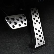 For  Lexus 2018 year lexus ES car pedal gas foot rest stainless modified pad non slip performance aluminium fuel