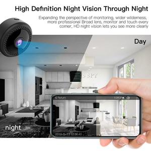 Image 4 - WIFI Mini กล้อง 1080P HD Gizli Kamera กล้องวงจรปิด IP CAM Night Vision Motion Sensor Magnetic Body Microcamera กล้องวิดีโอ