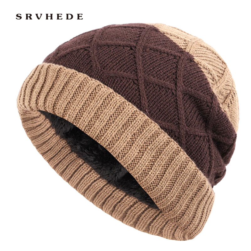 Winter Knitted Hat Skullies Beanies Men Winter Hats For Men Cap Bonnet Mask Warm Male Solid X Women Winter Beanie Hat Cap 2019