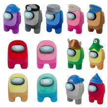 20 см мягкие куклы среди нас плюшевые игрушки в виде животных с наполнением из нас игра плюшевая кукла, принт с героями мультфильмов Kawaii, детс...