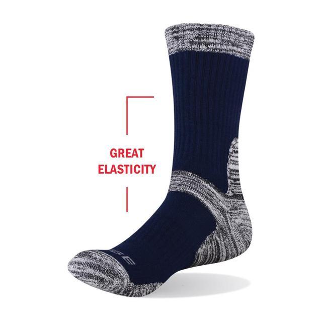 YUEDGE Men's Wicking Cushion Cotton Socks 8
