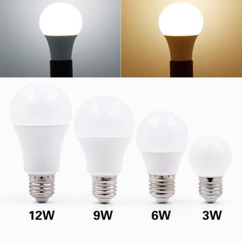 E27 Led Bulb Light 220V 230V 240V Energy Saving Led Lamp 3W 6W 9W 12W 15W 18W 20W White 6500k Warm White 3000k Bubble Ball Bulb e27 3w 6500k 210 220lm 10 x smd 2538 led white light energy saving lamp bulb white ac 220v