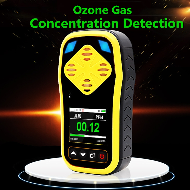 Ozone Detector Meter Accurate Ozone O3 Gas Leak Concentration Detector Portable Analyzer Monitor Alarm Professional Air Detector