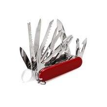 Multi sobreviver faca swiss bolso faca edc exército faca dobrável sobrevivência ferramenta de acampamento ao ar livre multiuso bolso caça knive