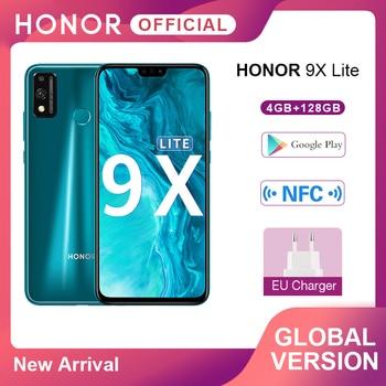 "En Stock versión Global teléfono móvil Honor 9X Lite 4G 128G 48MP Cámara Kirin 710 de 6,5 ""Android P GPU Turbo 3,0 NFC"