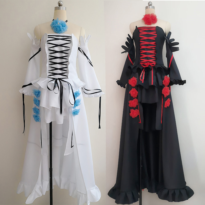 Anime Pandora Hearts Cosplay Costume Alice White Rabbit Party Dress