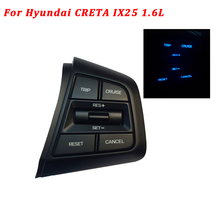 100% New Steering Wheel Button Cruise Control Bluetooth Switch For Hyundai CRETA 1.6L IX25 Right Side Buttons Replace Auto Parts