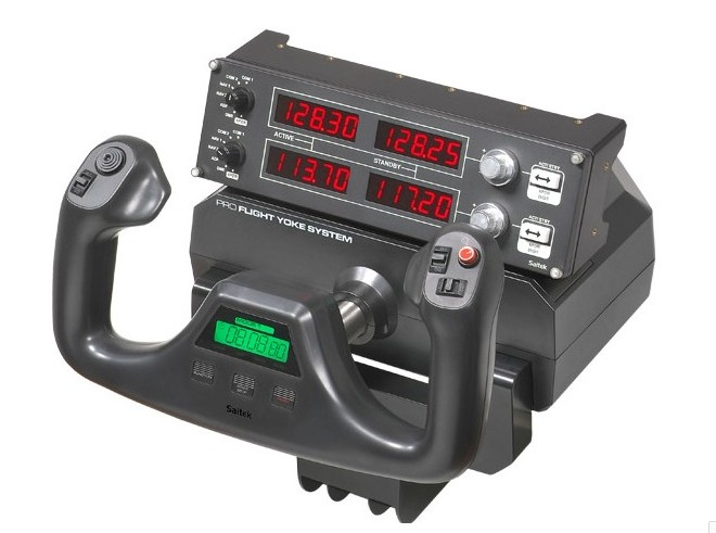 Radio Navigation Control Instrument Panel Pro Flight Radio Panel