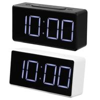 LED Digital Alarm Clock with USB Port Snooze Table Clock Electronic Clock Desk Alarm Clock USB Timer Calendar|Desk & Table Clocks|Home & Garden -