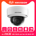 Hikvision 8MP ip-камера DS-2CD2185FWD-IS внутренней двери 8 мегапикселей купольная камера видеонаблюдения POE Cam Встроенный SD слот аудио интерфейс