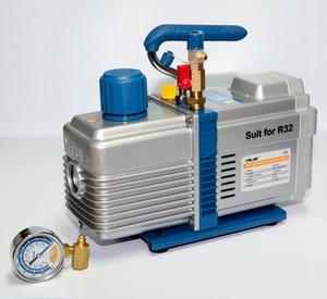 Image 2 - 220V 600W V i2120 6L Bipolar Vacuum Pump R32 R290 Refrigerant Pumping Screen Screen Fitting Model Vacuum Pump