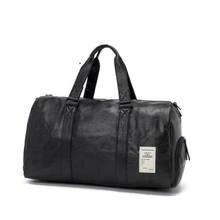 Водонепроницаемая спортивная сумка из ПУ кожи для мужчин и женщин
