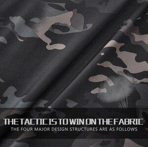 Image 3 - HAN WILD Men Sharkskin spodnie taktyczne Cargo Combat SWAT szkolenie wojskowe spodnie wojskowe Airsoft azjatyckie spodnie piesze wycieczki polowanie spodnie