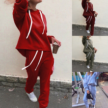 HEFLASHOR 2019 Tracksuit Long Sleeve Thicken Sweatshirts Long Pants 2