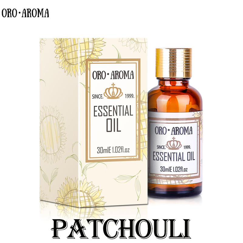 Patchouli ESSENTIAL OIL Famous brand oroaroma NATURAL removal of mosquitoes Eliminate acne relieve eczema calm patchouli OIL(China)